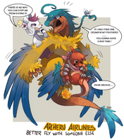 Archeru Airlines by fu-fighters