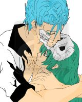 Grimmjow and Nell 03 by xreikoxyamada