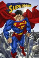Superman Cover by TheHylden
