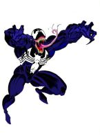 Venom - colored version - by BlackToe