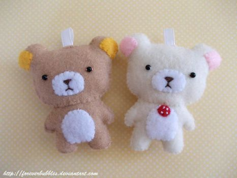 Rilakkuma and Korilakkuma by ForeverBubbles