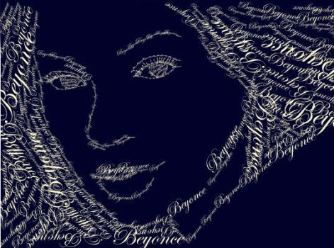 Beyonce CD cover by awassabee