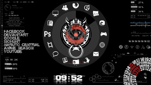Black AC Rainmeter by sean-naes