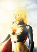 Super Girl by MrWills