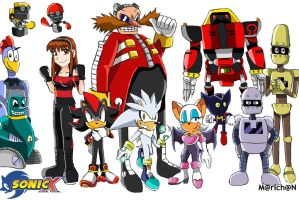 Sonicx The New Team Dark by 7marichan7
