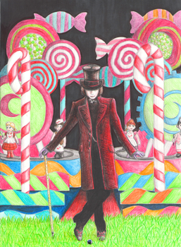 Willy Wonka - Charlie and the chocolate factory by Quirinuslr