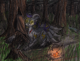 Spiritus: Alone In The Woods by Geo-Dragon