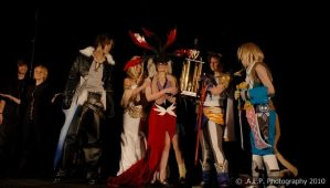 Best in Show: Dissidia by Hopie-chan