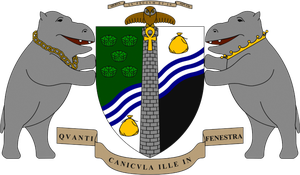 The Ankh-Morpork coat of arms. by teletran