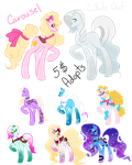 Breeding Carousel and White Out (Open 6/6) by PookasTrainer