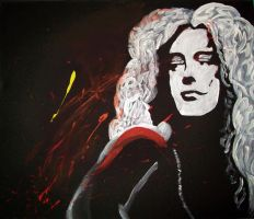 Robert Plant by CyranoInk