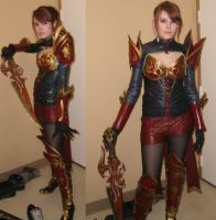Aion Progress 2 by misfitghost
