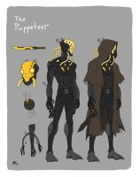 Injection character design- The Puppeteer by AndrewKwan