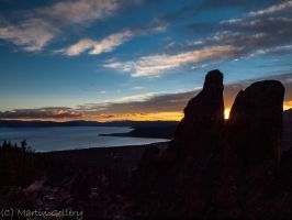 Tahoe sunset by MartinGollery