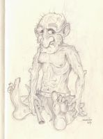 sketch new character donck by MsGothje