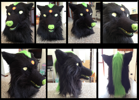 commission: Kyoki fursuit head by Nomura15