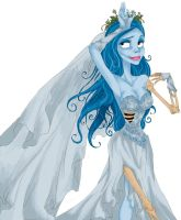 Emily 'Corpse Bride' by PinkPigtails