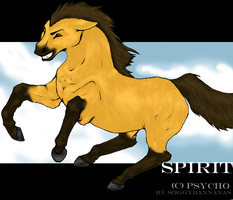 spirit for psycho  - finished by Lizeh