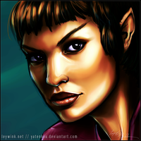T'Pol by LeyWink