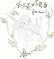 Legolas Greenleaf by SilverVarg