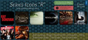 TV Series Icons R by g-Vita