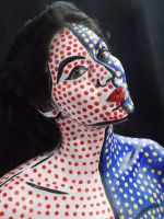 Pop Art Body Painting by BFcreations