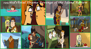 1997kid's Total Drama Revenge of the Island Review by 1997kid