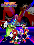 Knuckles Chaotix Next-Gen Poster by KidBobobo