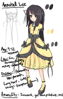 New OC: Annabel Lee by Im-a-Happy-Apple