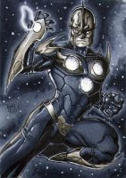 Nova Sketch Card by RichardCox