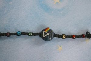 Dark Side of the Moon Bracelet by Firestorm-the-Poet