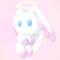 Angel Chaos Chao by Miles-Loves