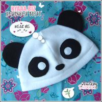 kyaaa. biz - Panda Hat by shiricki