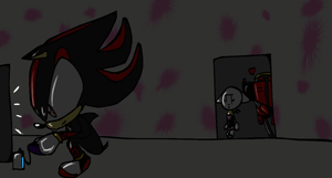 Shadow's a Hardcore Gamer by happyfudge