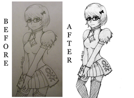 Velma in Lolita by BrittBailey