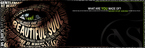 Supernatural Typography Banner by jessicarae24