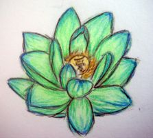 Lotus Flower by SkullyLuv