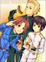 Hetalia: group A by circus-usagi