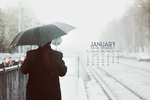 January Calendar by babyeyes