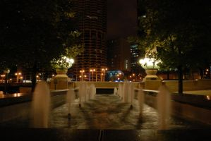 Reflecting Fountain by Manbehindthelens