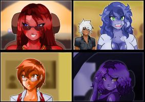 The Goo-Girls of Sunset City, Chapter 1 by leshawk