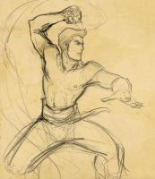 From the Sketchbook: Firewhip by Aleana