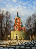 Old Believer Orthodox church in Ryazan by Ferrabra