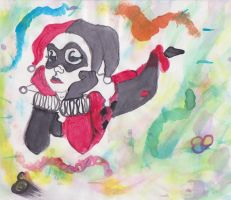 Harley Quinn's a dreamer by MadHattersPet