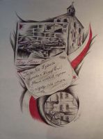 Warsaw Uprising Drawing by Haretattoo
