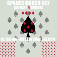 Spades Brushes Photoshop by saiyan-frost