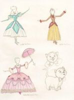 Some Princesses Dresses by sahadlich90