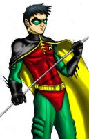 Robin - Tim with some color by bredenius