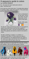 How I understand colors? Guide! by H-appysorry