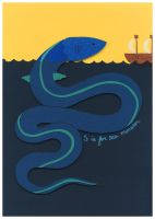 S is for Sea Monster by renton1313
